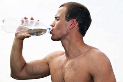 воду пить