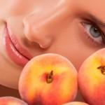 маска из персика