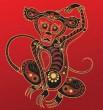миниатюра обезьяна